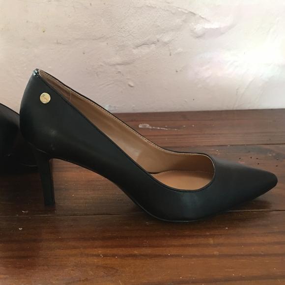 945b247f6e2 Calvin Klein Shoes - Women s Calvin Klein Brady pointed toe black pumps